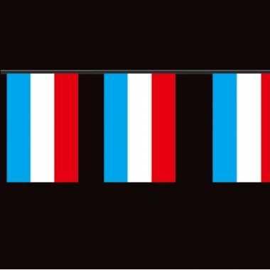 Papieren vlaggenlijn luxemburg