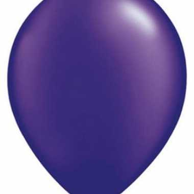 Parel paars qualatex ballonnen