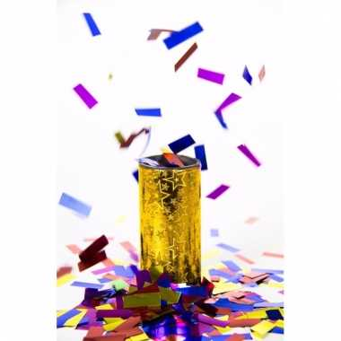 Party confetti tafelbom goud