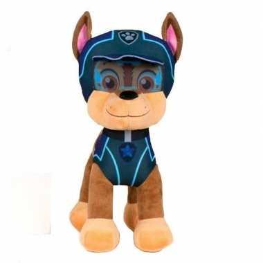 Paw patrol knuffel hond chase 17 cm