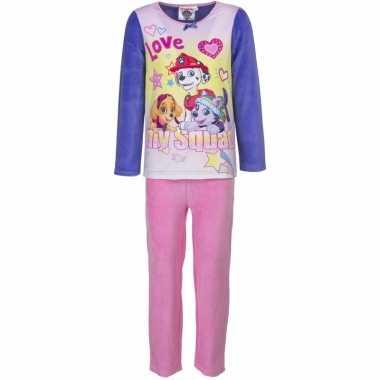 Paw patrol meiden pyjama paars