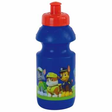 Paw patrol pop-up schoolbeker blauw 350 ml