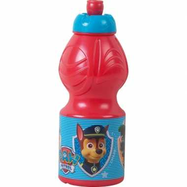 Paw patrol pop-up schoolbeker rood 350 ml