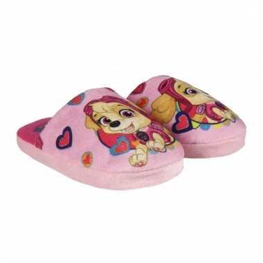 Paw patrol slippers roze voor meisjes