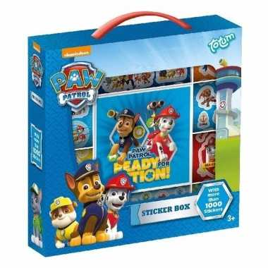 Paw patrol sticker box 14 vellen