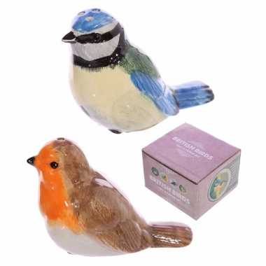 Peper en zout stel vogeltjes