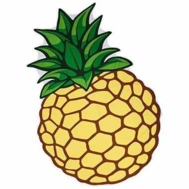 Picknickkleden ananas 120 x 170 cm