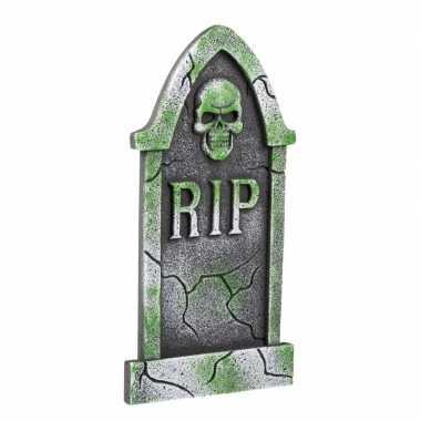 Piepschuim halloween grafsteen rip 40 cm