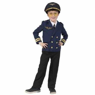 Piloot verkleed jasje voor kinderen