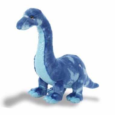 Pluche dino knuffelbeest brachiosaurus 39 cm