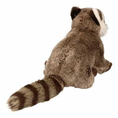 Pluche wasbeer knuffel dier 30 cm