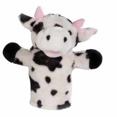 Poppenkast pop koe pluche 23 cm