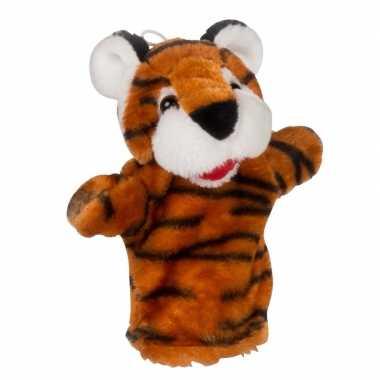 Poppenkast pop tijger pluche 23 cm