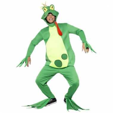 Prins kikker kostuum voor heren