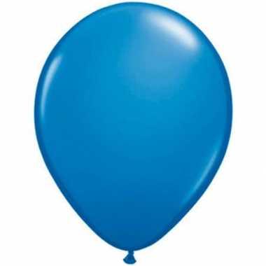 Qualatex donker blauw ballonnen