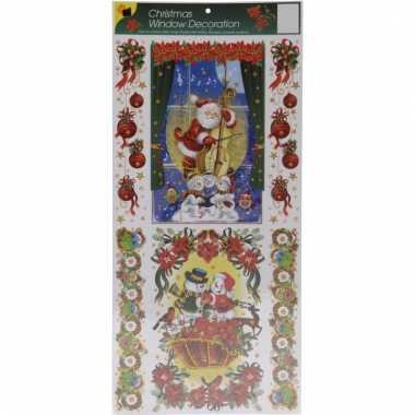 Raamstickers kerstsfeer type 1