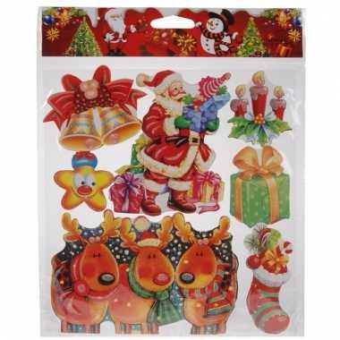 Raamstickers kerstsfeer type 2
