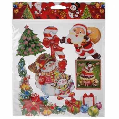 Raamstickers kerstsfeer type 3
