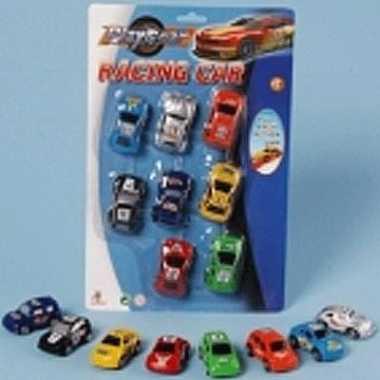 Race auto setje van 8 stuks