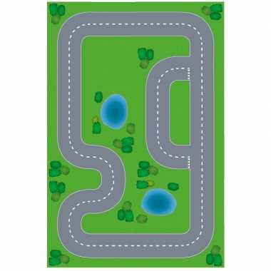 Race circuit diy speelgoed stratenplan/ kartonnen speelkleed