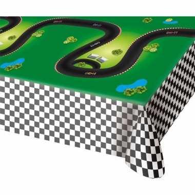 Race/formule 1 thema tafelkleed 130x180 cm