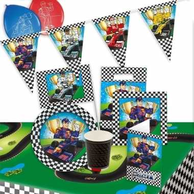 Race versiering pakket voor kinderfeestje