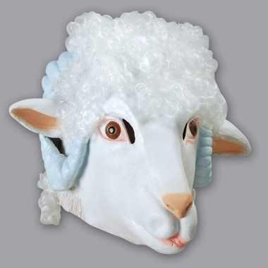 Ram/schaap masker wit