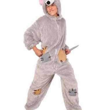 Rat kostuum van pluche
