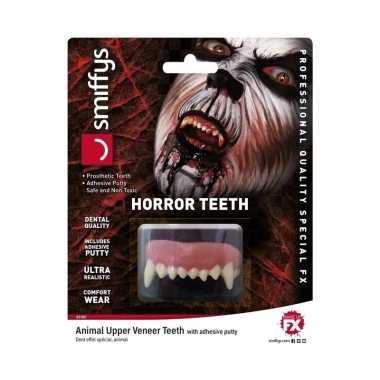 Realistische horror tanden weerwolf