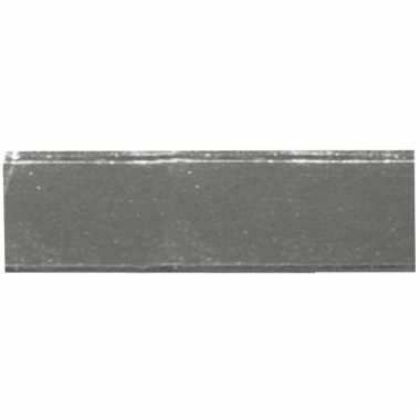 Rechthoekige mozaiek steentjes zilver