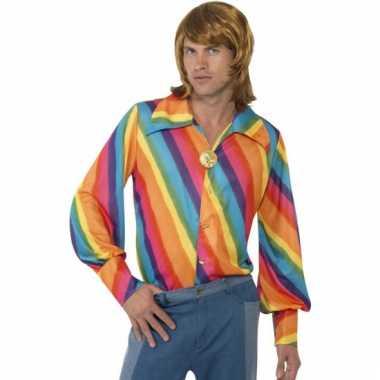 Regenboog thema shirt