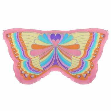 Regenboog vlinder kindervleugels