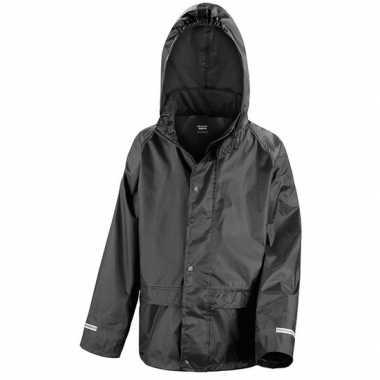 Regenjassen zwart voor jongens