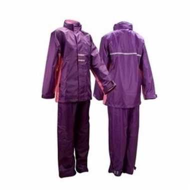 Regenkleding paars/roze voor meisjes