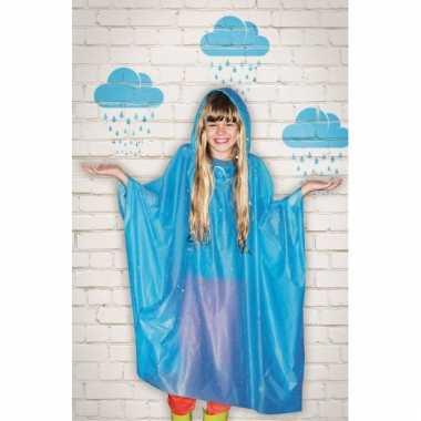 Regenponcho voor kinderen
