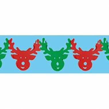 Rendieren kerst slinger 3 meter