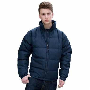 Result jas donkerblauw voor heren
