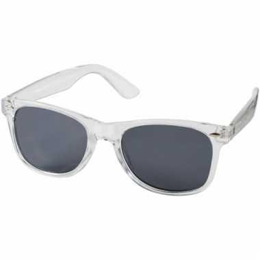Retro zonnebrillen transparant