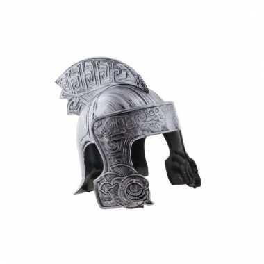 Ridder helm in het zilver