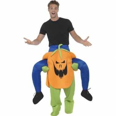 Ride on kostuum pompoen voor volwassenen