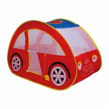 Rode auto speeltent