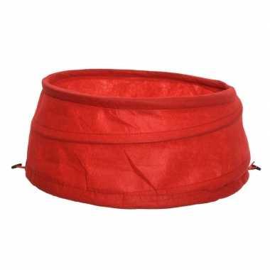 Rode boomrok van polyester 68 cm