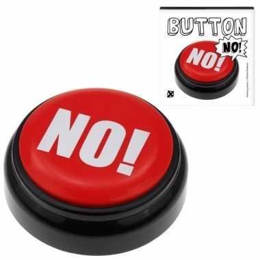 Rode buzzer met no! geluid