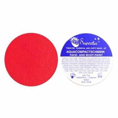 Rode cerise schmink op waterbasis