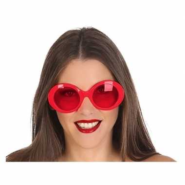 Rode dames verkleedbril