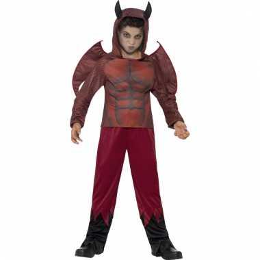 Rode duivel kostuum voor kinderen