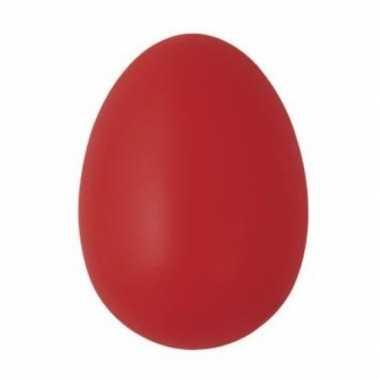 Rode eieren versiering 6 cm 25 stuks
