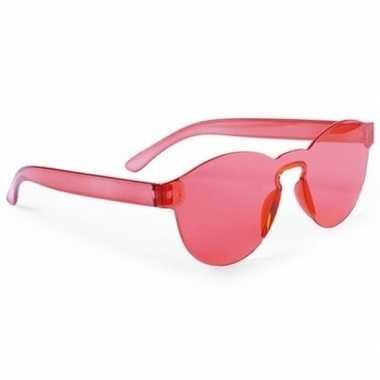 Rode feestbril voor volwassenen