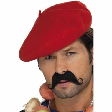 Rode franse baret
