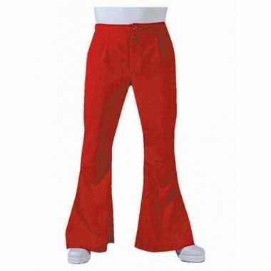Rode hippie heren broeken